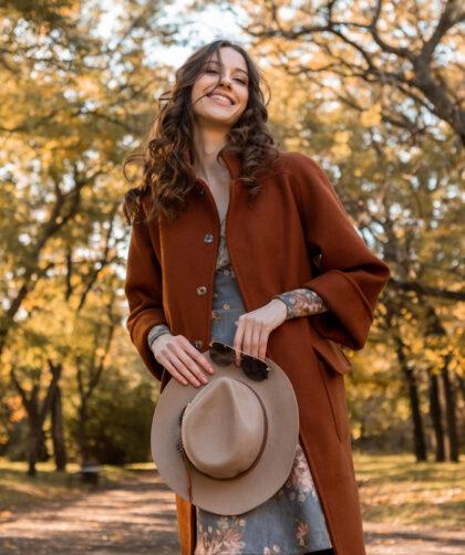 tenue confortable et chic pour l'automne